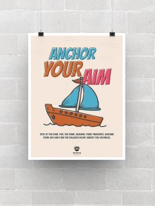 Anchor your Aim Poster