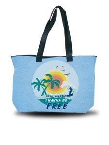 Dear Zindagi I Wanna Be Free Tote Bag