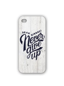 Dear Zindagi Never Give Up Mobile Case