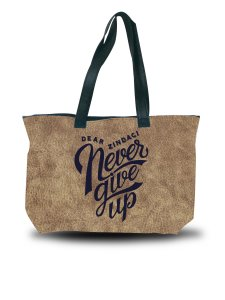 Dear Zindagi Never Give Up Tote Bag