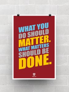 Do What Matters Poster