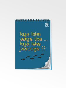 Kya Leke Aaye the Notepad