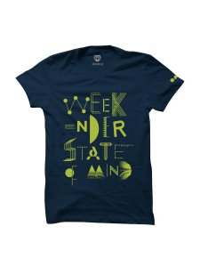 NH7 WSOM - Navy Blue Tee