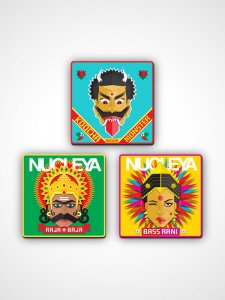 Nucleya Coaster Set (3)