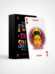 Nucleya Fuck That Shit Playing Cards