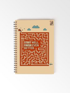 Start Well Daily Notebook