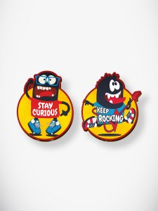 Stay Curious Coaster Set