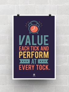 Value each Tick Poster